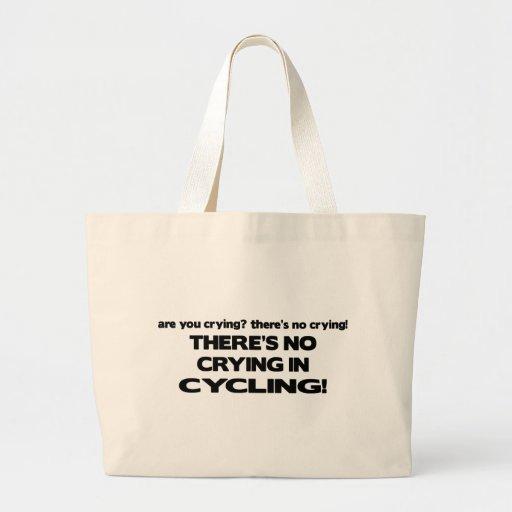 No Crying - Cycling Tote Bag