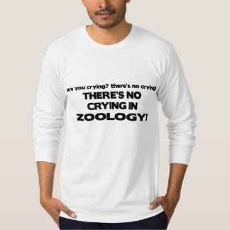 No Crying in Zoology T-Shirt