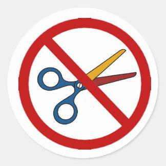 No Cuts @ KU Stickers