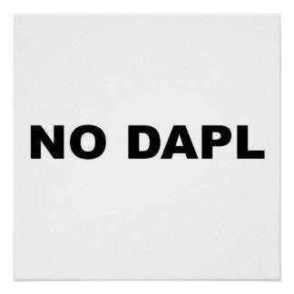 NO DAPL Protest Sign