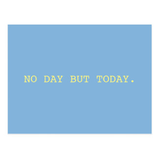 No Day // Rent Postcard
