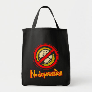 No Depression Tote Bag