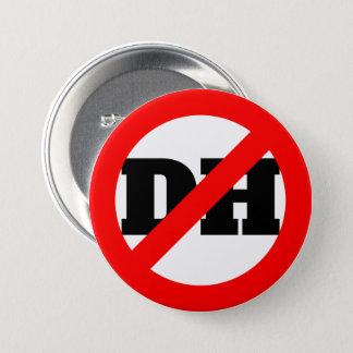 No DH 3 Inch Round Button