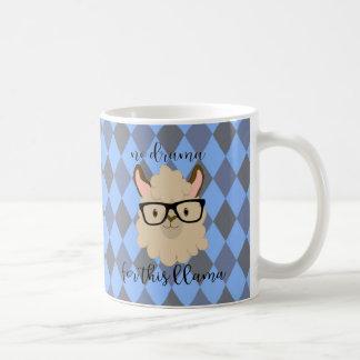 no drama for this llama mug