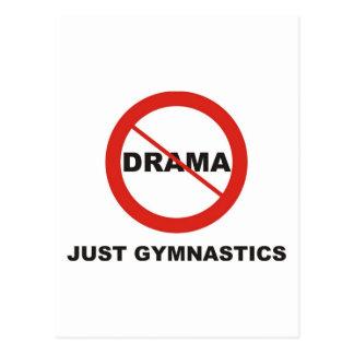 No Drama Just Gymnastics Postcard