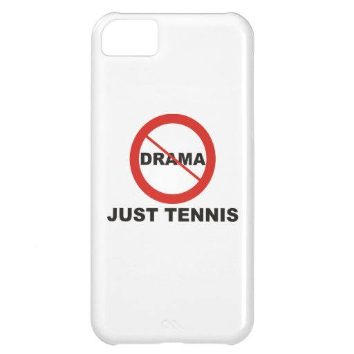No Drama Just Tennis iPhone 5C Covers