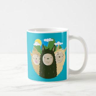 No Drama Llamas Brothers Coffee Mug