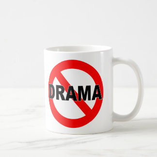 No Drama (Mug) Coffee Mug
