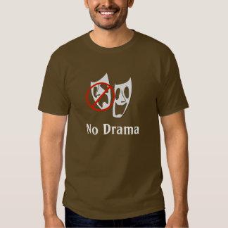 """No Drama"" Theater Masks Shirt"