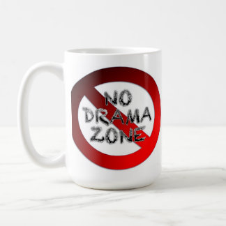 No Drama Zone Coffee Mug