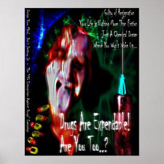 No Drugs (design 2) Poster