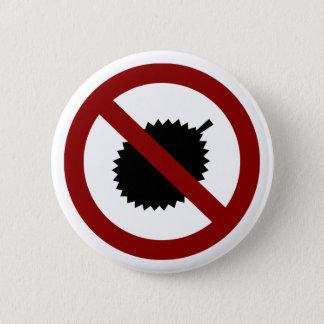 No Durian 2 Inch Round Button