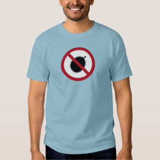 No Durians (1) Sign, Singapore Tshirt