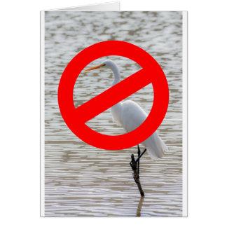 No Egrets Card