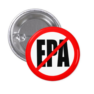 """NO EPA"" 1 INCH ROUND BUTTON"