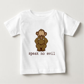 No Evil Monkeys Baby T-Shirt
