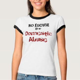No Excuse for Domestic Abuse T-Shirt