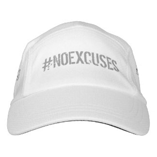 No Excuses Motivational #NOEXCUSES GYM Headsweats Hat