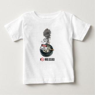 NO EXCUSES Stop Smoking Baby T-Shirt