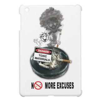 NO EXCUSES Stop Smoking iPad Mini Cover