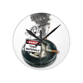 NO EXCUSES Stop Smoking Round Clock