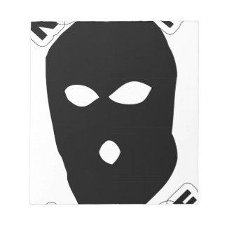 No Face No Case Notepad