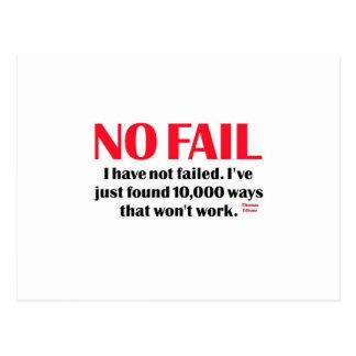 No Fail Postcard