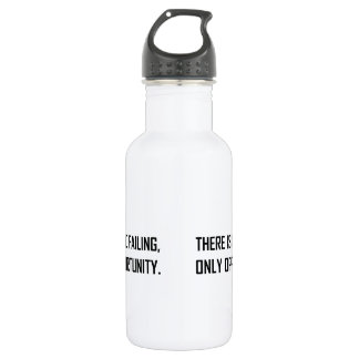 No Failing Only Opportunity Motto 532 Ml Water Bottle