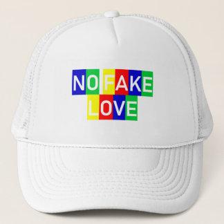 NO FAKE COILS CAPE TRUCKER HAT