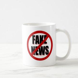 No Fake News Coffee Mug