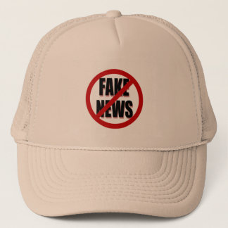 No Fake News Trucker Hat