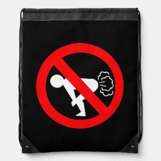 No Fart Drawstring Bags