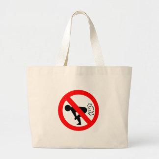 No Fart Jumbo Tote Bag