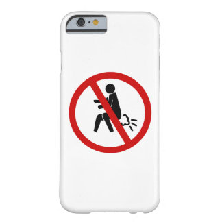 NO Farting ⚠ Funny Thai Toilet Sign ⚠ Barely There iPhone 6 Case