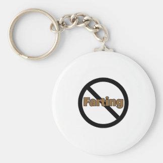No Farting Keychain