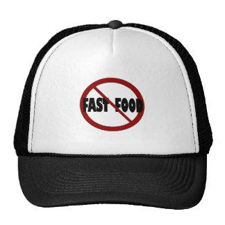 No Fast Food Trucker Hat