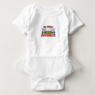 no-fault divorce 50 50 equality baby bodysuit
