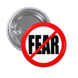 """""""NO FEAR"""" 1 INCH ROUND BUTTON"""