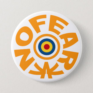 No Fear 3 Inch Round Button