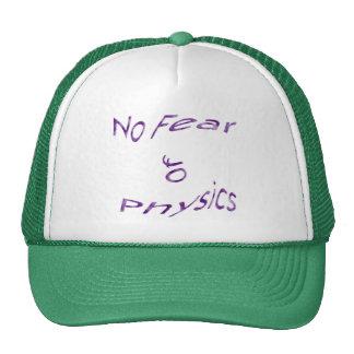 No Fear of Physics Trucker Hats
