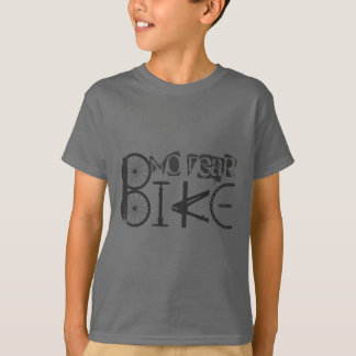 """No Fear"" Quote & Graffiti from Bike Parts T-Shirt"