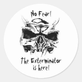 NO Fear! Round Sticker