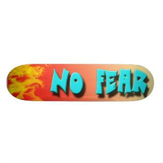 NO FEAR SKATE BOARD DECK