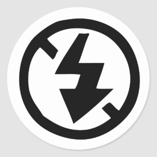 No Flash Photography Classic Round Sticker
