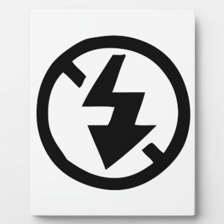 No Flash Photography Plaque