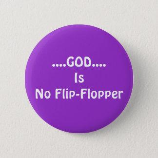 No Flip-Flopper 2 Inch Round Button