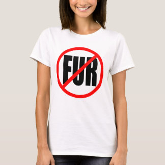 """NO FUR"" T-Shirt"