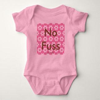 No Fuss    Luke 12:22 Baby Bodysuit
