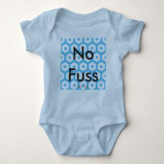 No Fuss    Luke 12:22 blue Baby Bodysuit