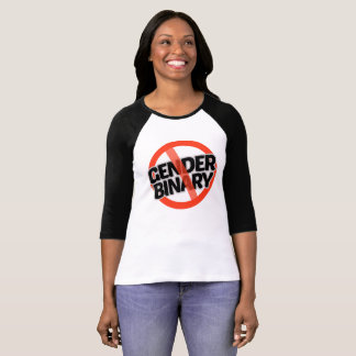 No Gender Binary - -  T-Shirt